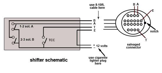 4l60e Shifterrhtransmissionbench: Holes Electronic Shifter Wiring Diagram At Elf-jo.com